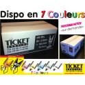 Carton de 80 000 tickets à bandes Noires disponible en 5 couleurs