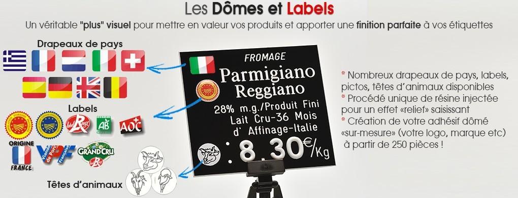 Dômes et labels